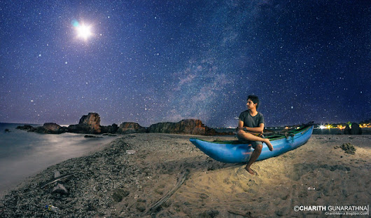 In the Starry Night - Trincomalee