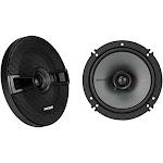 """6.5"""" Coaxial Speakers - Black Kicker 44KSC6504"""