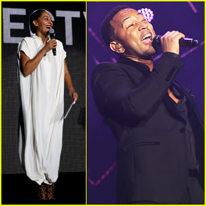 John Legend & Tracee Ellis Ross Hit the Stage on Night One of Essence Music Festival
