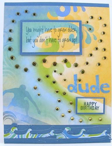 Birthday Dude Card