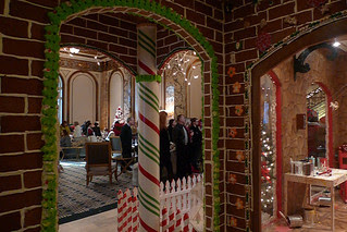 Christmas in the City - Gingerbread House entrance
