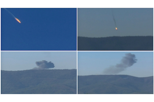 Turkey shoots down Russian fighter plane near Syria border