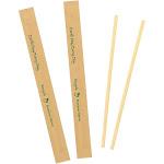 "7"" Kraft Paper Wrapped Bamboo Stir Sticks, Pack of 500"