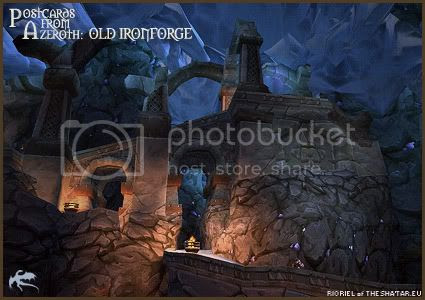 Postcards of Azeroth: Old Ironforge, by Rioriel of theshatar.eu