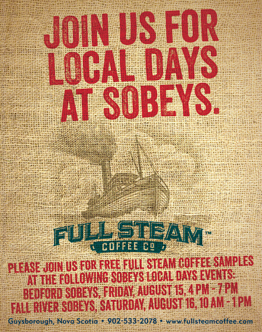 It's Local Days at Halifax area Sobeys stores.... | Authentic Seacoast Company