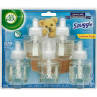 Air Wick Life Scented Oil Plug In Fragrance, Snuggle Fresh Linen - 5 pack, 0.67 fl oz refills