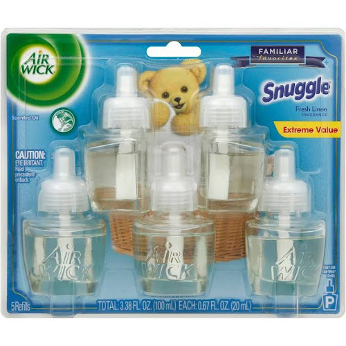 Air Wick Life Scented Oil Plug In Fragrance, Snuggle Fresh