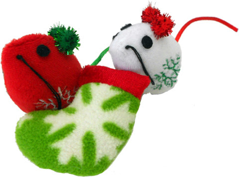Cat Claws Holiday Cat Toys Giveaway (12/22)