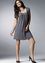 Venus Pleat Front Mini Dress