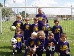 The Loup Garous Soccer Team 2009