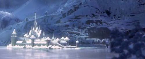 Arendelle from Frozen. Credit: Frozen/Disney