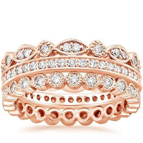 Luxe Antique Eternity Diamond Ring Stack (1 ct. tw.) in