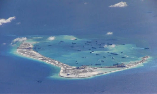 South China Sea: Chinese military tells US ship 10 times to turn around | AMTV 2016®