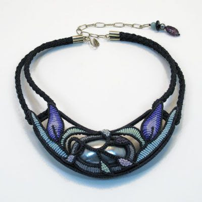 Cavandoli & Micro Macrame Artisan Jewelry    shop.jewelsinfiber.com