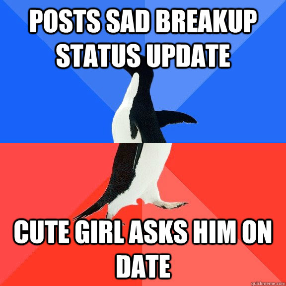 Posts Sad Breakup Status Update Cute Girl Asks Him On Date