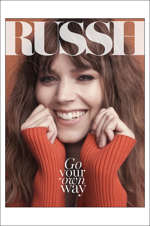 Le Fashion Blog Freja Beha Erichsen Russh Magazine June Jule 2014 Smile Bangs Wavy Hair Nude Nails photo Le-Fashion-Blog-Freja-Beha-Erichsen-Russh-Magazine-June-Jule-2014-Smile-1.png