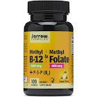 Jarrow Formulas Methyl B-12 & Methyl Folate - 100 Lozenge