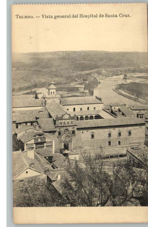 Museo de Santa Cruz a comienzos del siglo XX Foto J. Roig