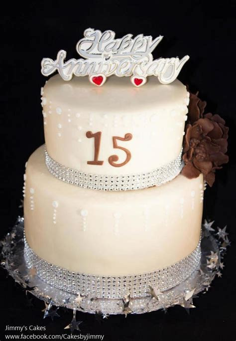 15th Wedding Anniversary Cake   www.pixshark.com   Images