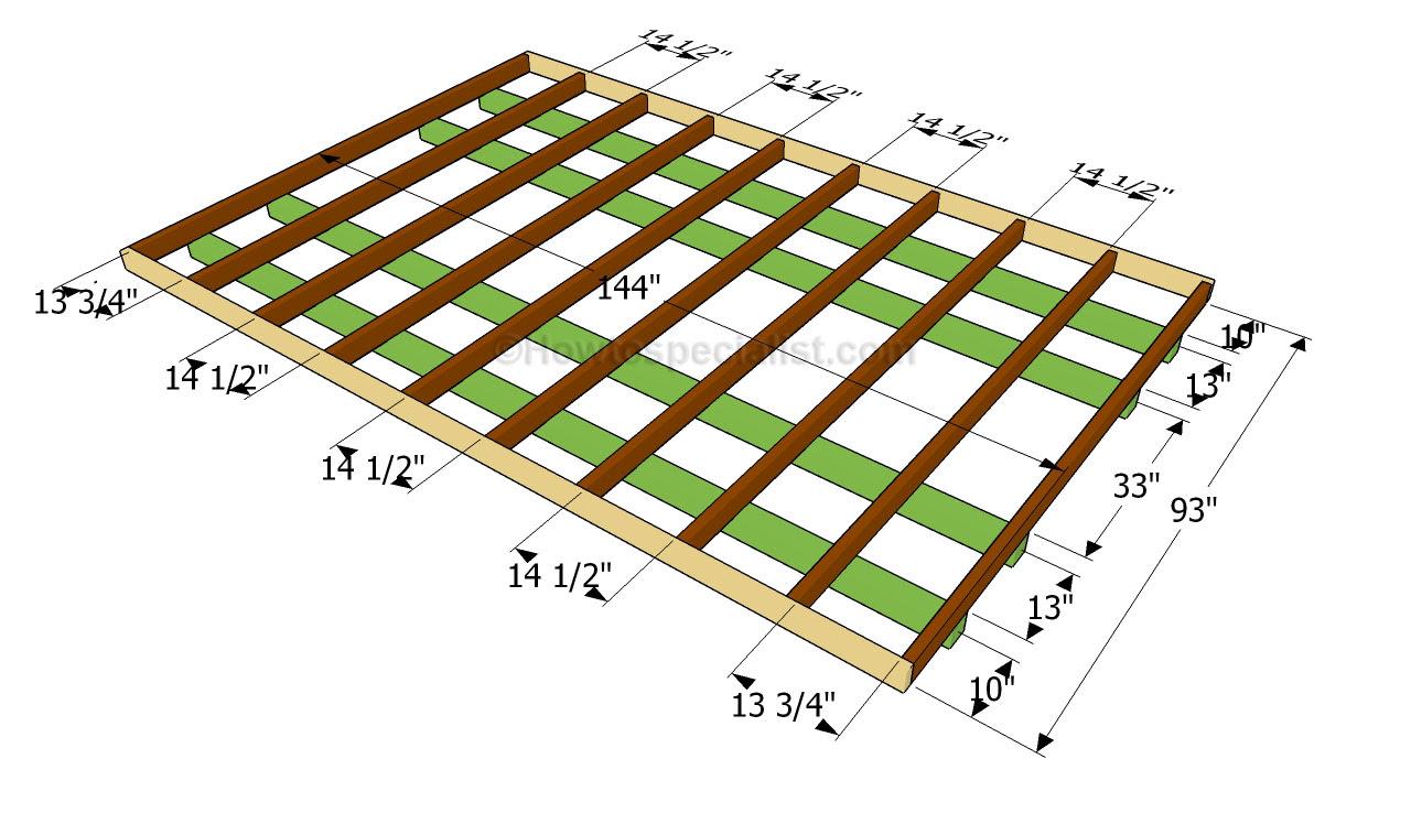 build a shed floor ~ Internet Shed Plans