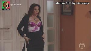 Marisa Orth sensual na novela Sangue Bom