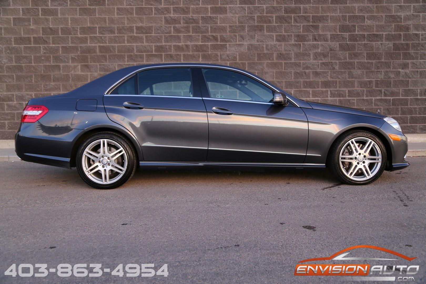 2010 Mercedes-Benz E550 4Matic Spotless History | Envision ...