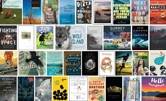 Finalists Announced for 2018 BC Book Prizes