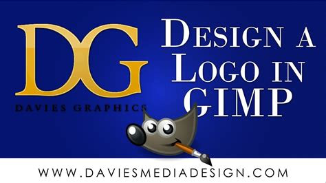 gimp tutorial  beginners professional logo design