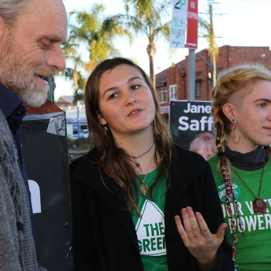 Teen Greens candidate may be youngest election runner