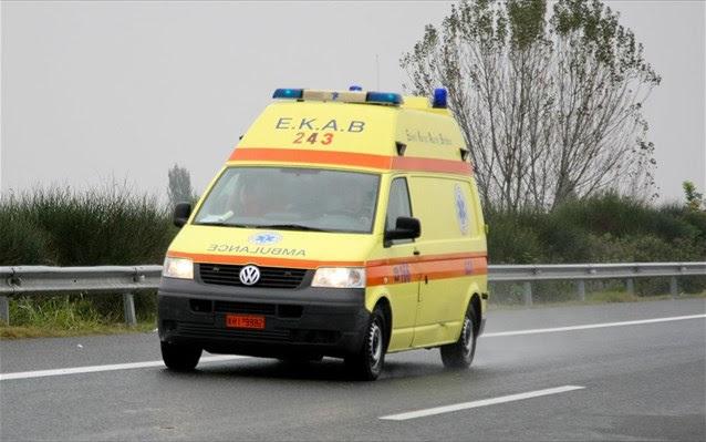 Πλήρωμα του ΕΚΑΒ έσωσε 3χρονο κοριτσάκι από πνιγμό στη Γιάννουλη Λάρισας