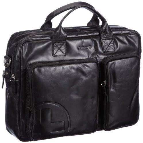 strellson soft briefcase 01 91 11120 borsa porta documenti uomo 40 x 29 x 10 cm l x a x p. Black Bedroom Furniture Sets. Home Design Ideas