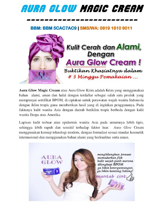 Aura glow magic cream | BBM BBM 5CAC7AC9