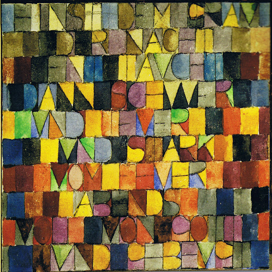 Paul Klee Inspirational Lyrics