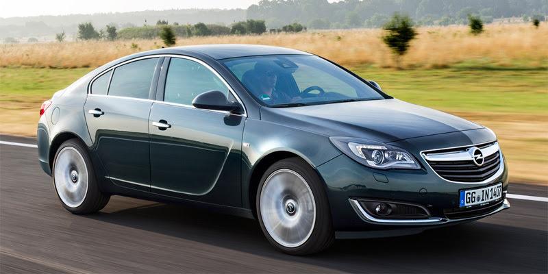 Opel Insignia 2014. verde esmeralda