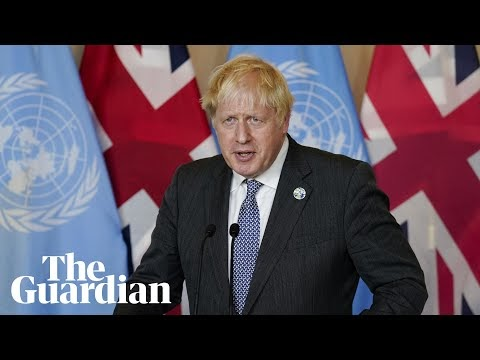 'Developing world is bearing brunt of catastrophic climate change,' says Johnson