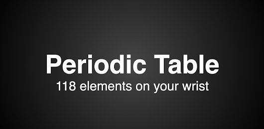 Periodic Table Trainer (Android Wear) – Timo Denk's Blog