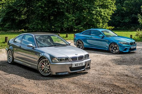 Icon Buyer: new BMW M2 vs used E46 M3 CSL by CAR Magazine