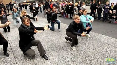 Tom & Vicky's Marriage Proposal Flash Mob   YouTube