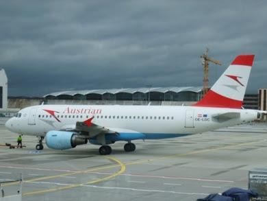 Austrian Airlines Website