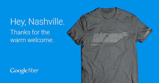Your Google Fiber Nashville T-shirt – Google Fiber