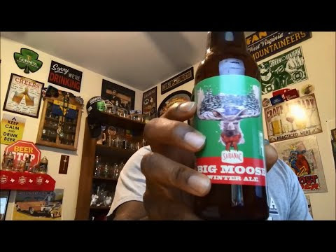 Saranac Big Moose Winter Ale Beer Review
