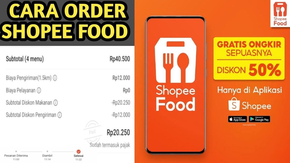 Download Wallpaper Cara Klaim Voucher Shopee Food