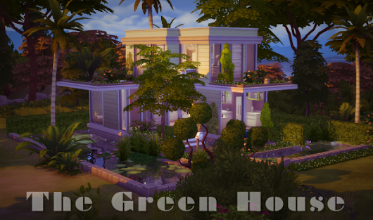 New Sims 4 build – The Green House