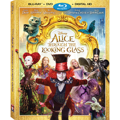 NEW RELEASE ON DVD: Alice Through the Looking Glass