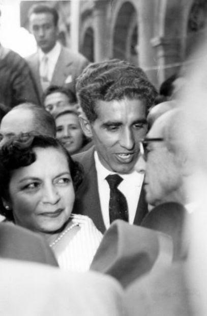 Celebración del Tour ganado por Bahamontes en 1959