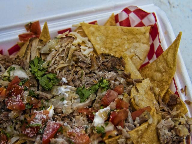 Attack of the Killer Carnitas nachos