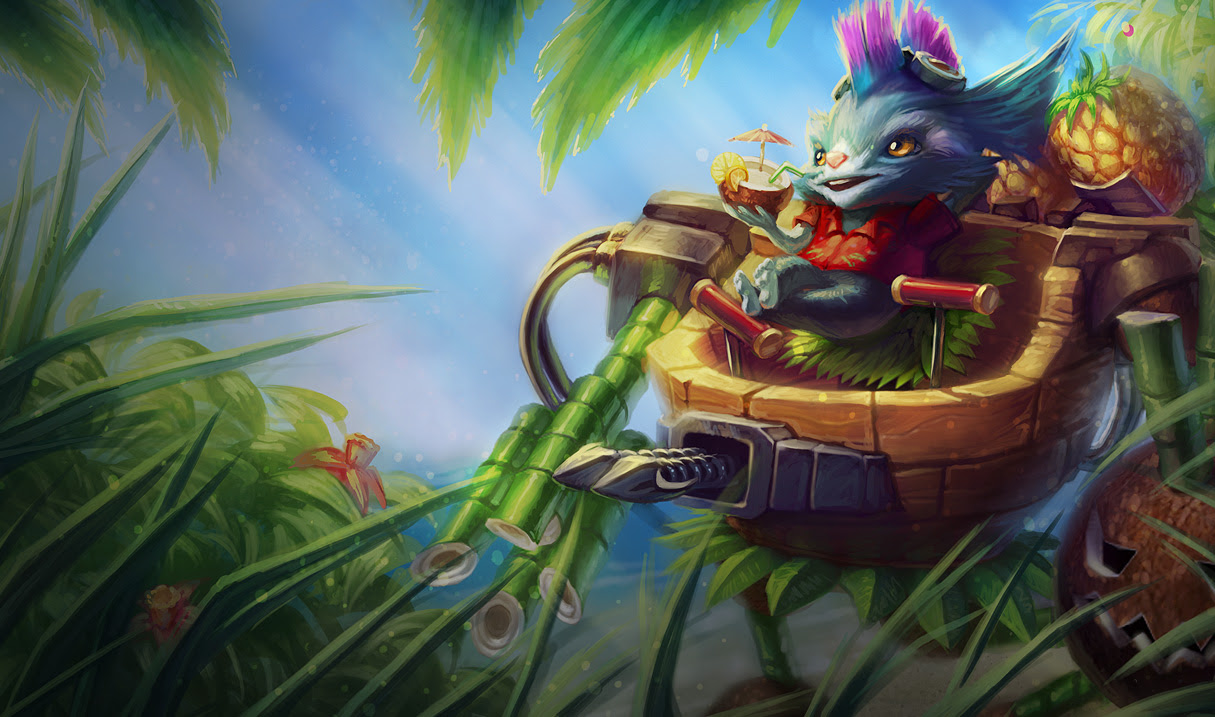 Rumble In The Jungle Skin League Of Legends Wallpapers