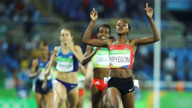 Kipyegon atwaa Medali ya dhahabu