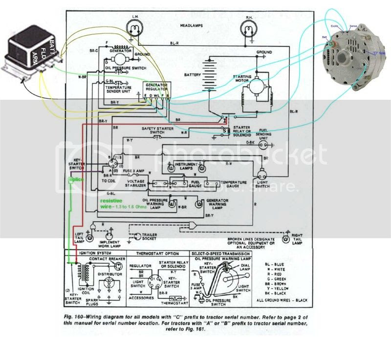 Diesel Tractor Ignition Switch Wiring - Wiring Diagram
