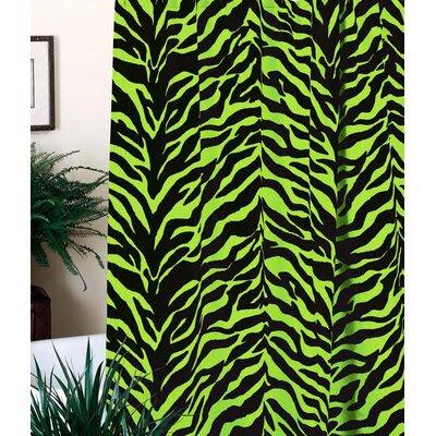 DENY Designs Clara Nilles Candy Stripe Zebras Shower Curtain | Wayfair